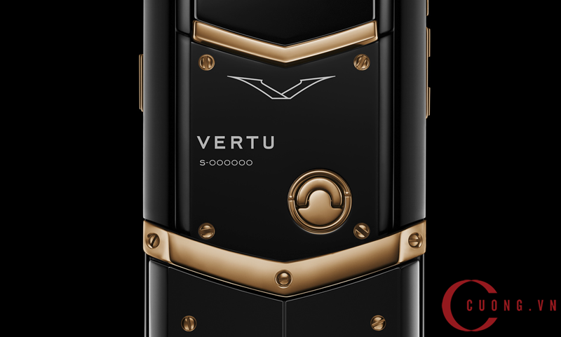 vertu signature s red gold ultimate black mới 02