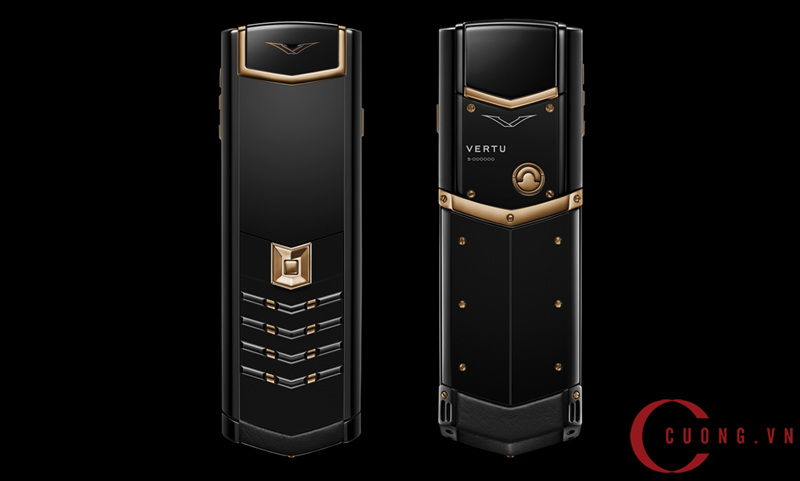 vertu signature s red gold ultimate black mới 01