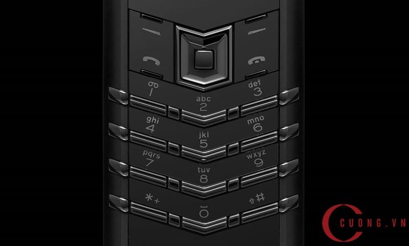 vertu signature pure black mới 03