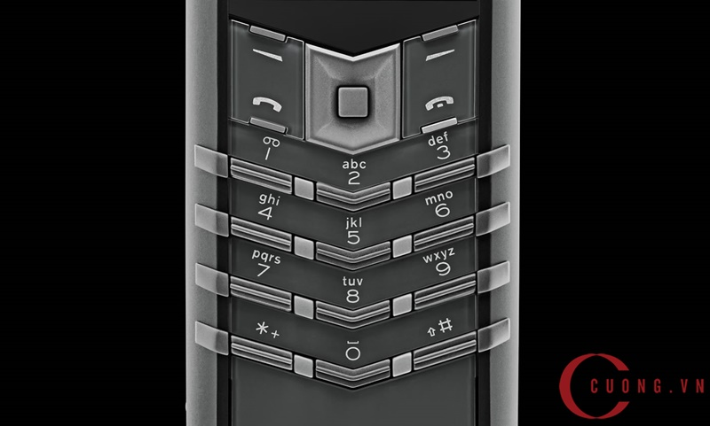 Vertu Signature S Zirconium Alligator mới 03