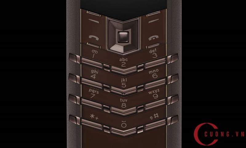 Vertu Signature S Pure Chocolate Stainless Steel mới 03