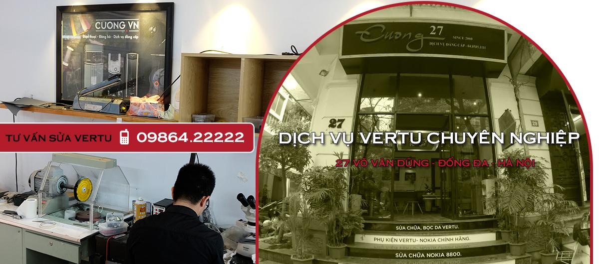 Cuong.vn - Địa chỉ mua Vertu chính hãng đáng để bạn tham khảo