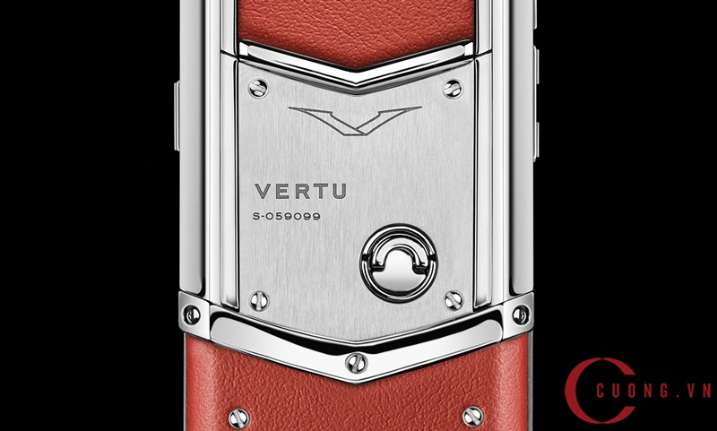 vertu signature s red calf mới 02