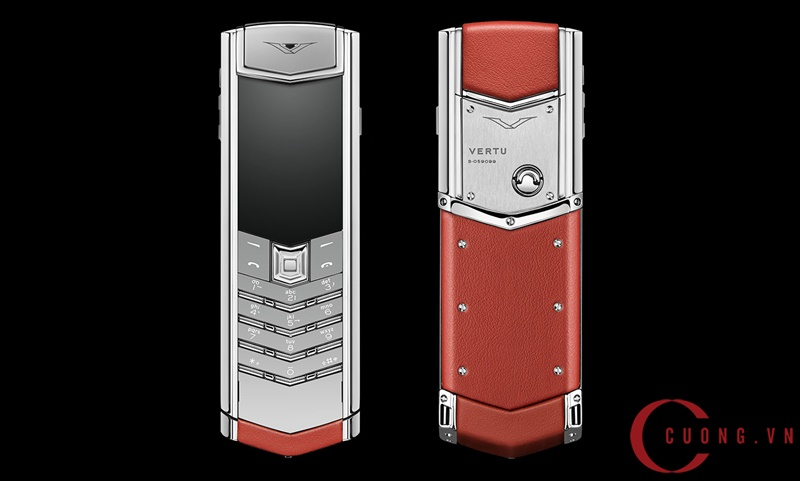 vertu signature s red calf mới 01